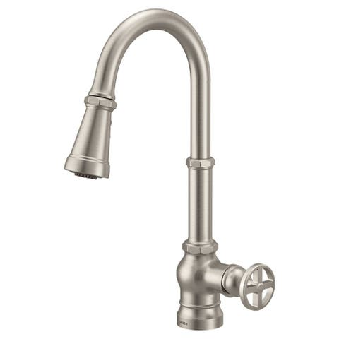 Moen One-Handle Pulldown Kitchen Faucet Spot Resist Stainless (S72003SRS)