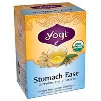 Yogi Tea Herbal Teas Stomach Ease Certified Organic 16 tea bags