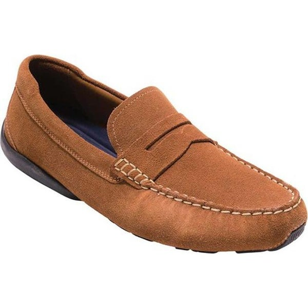 83afb8cb176 Shop Cole Haan Men s Branson Penny Driver British Tan Suede - Free ...