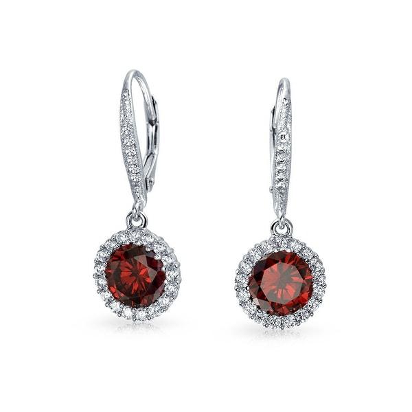 5bda851fb Red CZ Apple Of My Eye Kpop Huggie Hoop Earrings For Women Cubic Zirconia  925 Sterling Silver Earrings Jewelry