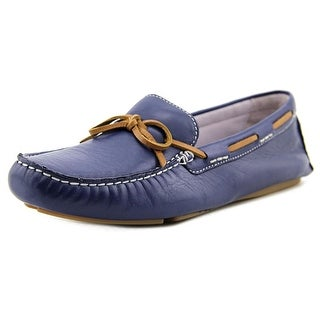 Johnston & Murphy Maggie Camp Moc   Round Toe Leather  Loafer