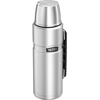 Thermos Stainless King Vacuum Insulated Beverage Bottle (40 oz/ Stainless Steel)