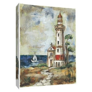 "PTM Images 9-154853  PTM Canvas Collection 10"" x 8"" - ""Path to the Lighthouse II"" Giclee Lighthouses Art Print on Canvas"