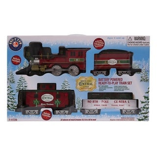 Lionel North Pole Central Lines Ready to Play Train Set Christmas