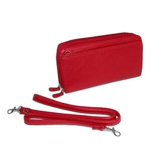 Buxton Women's Zippered Wallet Style Handbag - One Size