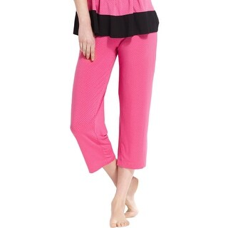DKNY Womens Capri Pants Jersey Polka Dot