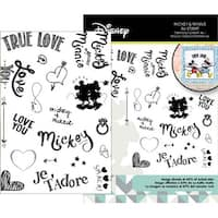 - Disney Mickey & Minnie Mouse Stamp Set