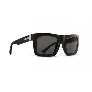 Vonzipper Sunglasses Donmega Black Gloss Wildlife Vintage Grey Polarized Lens