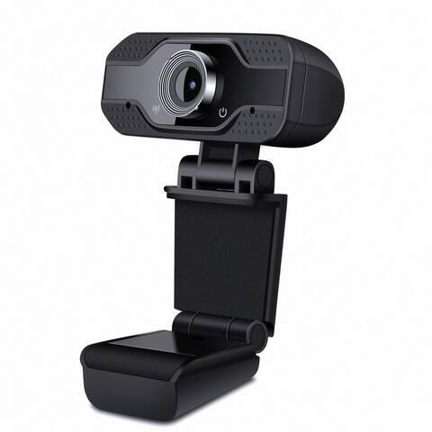 1080P HD Webcam With Microphone Auto Focusing Web Camera for PC Laptop Desktop - 8' x 10'