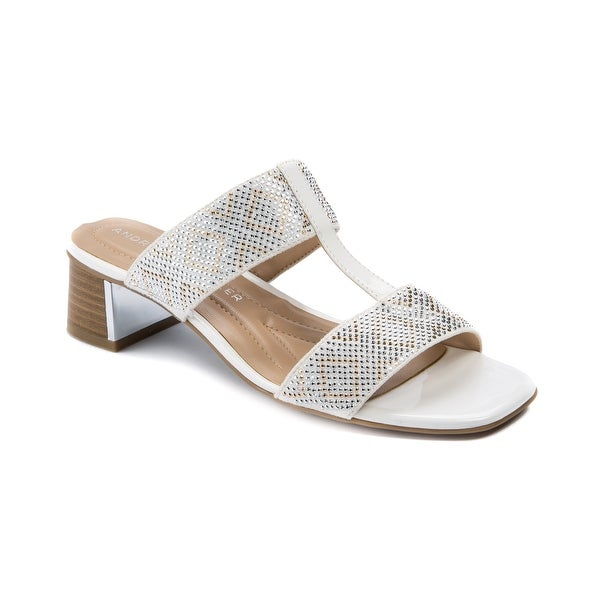 Andrew Geller Henlie Women's Sandals White/Natural