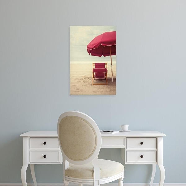 Easy Art Prints Elizabeth Urquhart's 'Under the Umbrella I' Premium Canvas Art