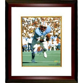 d9d96e3d5 Shop Earl Campbell signed Houston Oilers 8X10 Photo Custom Framed blue  jersey TriStar Hologram - Free Shipping Today - Overstock - 19875284