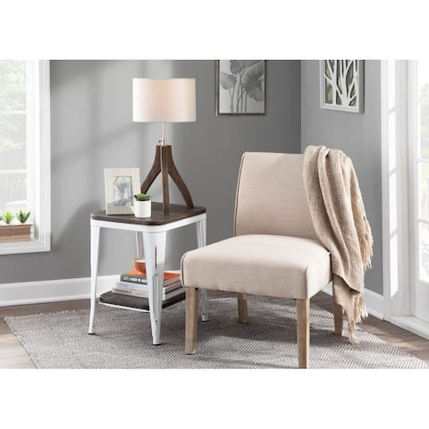The Gray Barn Spelling Stream Vintage Contemporary Upholstered Accent Chair
