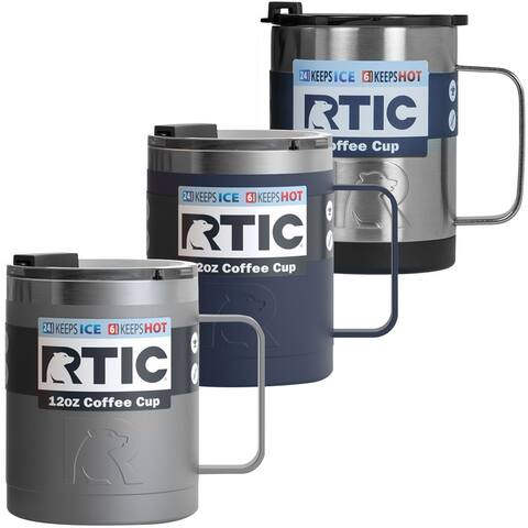 RTIC 12 oz. Stainless Steel Vacuum Insulated Coffee Cup - 12 oz.