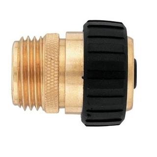 """Orbit Sunmate 58369N Male Heavy-Duty Hose Mender, 5/8"""", Brass"""