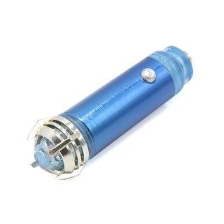 Blue Fresh Air Ionic Purifier Oxygen Bar Ozone Ionizer Cleaner for Auto Car 0.6W