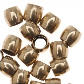Antiqued Brass Economy Crimp Beads 3mm x 2.7mm (50)