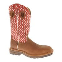 Twisted X Boots Men's MLCS001 Distressed Shoulder/Cherry Leather