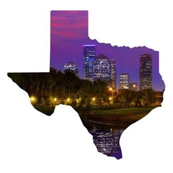 Shop Next Innovations 101410034 Houston Houston Texas Metal Wall Art