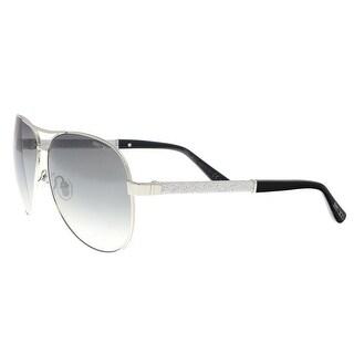 Jimmy Choo LEXIE/S 0EJT Palladium Glitter Aviator sunglasses