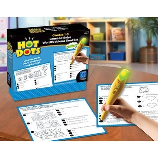 Hot Dots Learn To Solve Word