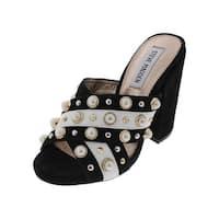 Steve Madden Womens Cove Dress Sandals Open Toe Studded