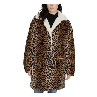 Link to SANCTUARY Womens Black Animal Print Blazer Coat  Size M Similar Items in Women's Outerwear
