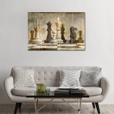 """iCanvas """"Chess"""" by Russell Brennan Canvas Print"""