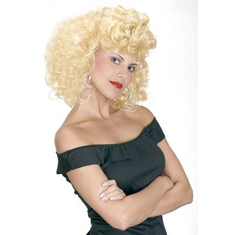 50s CLASSIC SANDY GREASE WIG ONE SIZE