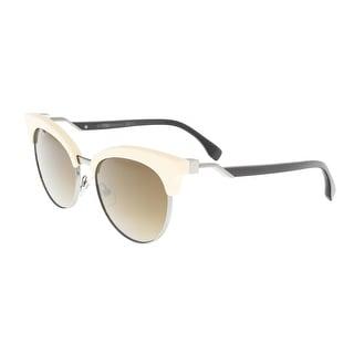 Fendi FF 0229/S 0VK6 Ivory Eyewear Sunglasses - 55-18-140