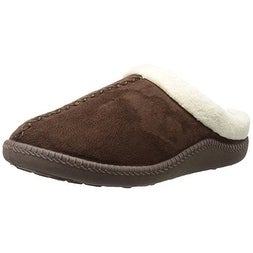 dd3b5e8a37c6 Shop Dr. Scholl s Men s Justin Slipper - Brown Microfiber - Free Shipping  On Orders Over  45 - Overstock - 21222403