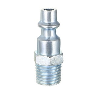 """Quick Coupler , Air Quick-Connect Fitting , 1/4-Inch NPT Male Thread , Pack of 2 - 1/4""""NPT Male Milton-type Quick Coupler"""