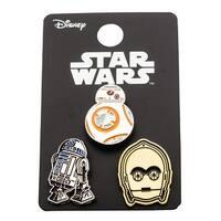 Star Wars Pin Pack: BB8, R2D2, C3PO