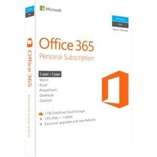 Microsoft 365 Personal 32 & 64 Bit English 1 Year Subscription