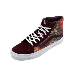 Vans Men s SK8 Hi Slim Port Royal Italian Weave nan VN00018IJUY c398b2f7c