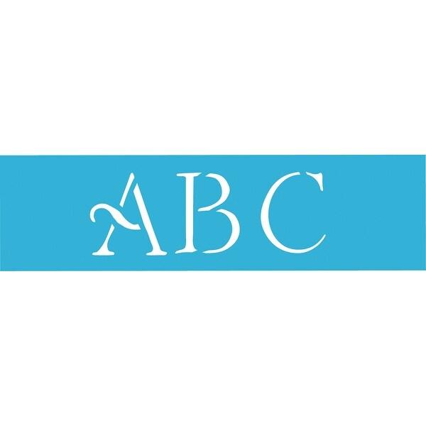 "Americana Stencil 6""X18"" 3/Pkg-Simple Script Alphabet 3"""