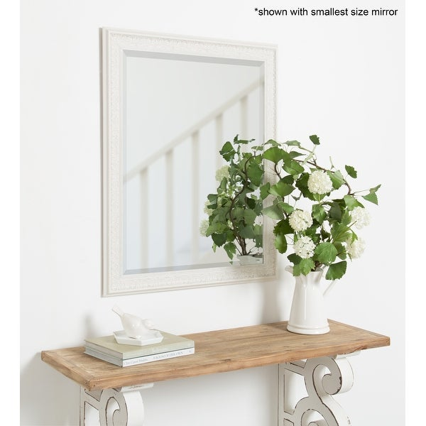 Alysia Decorative Frame Rectangle Wall Mirror. Opens flyout.