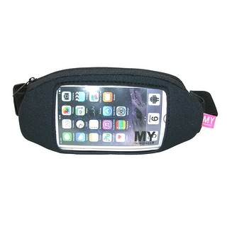 MY TAGALONGS Runner's Sport Waistpack with Clear Phone Window