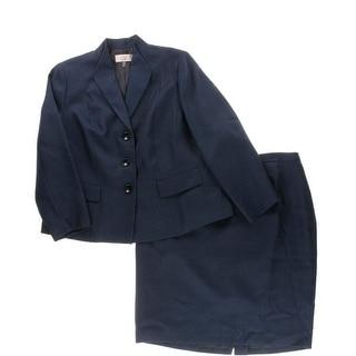Le Suit Womens 2PC Knee-Length Skirt Suit