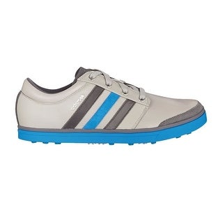 Adidas Men's Adicross Gripmore Clear Granite/Granite/Bright Blue Golf Shoes Q46601