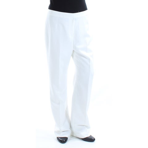 LE SUIT Womens Ivory Wear To Work Pants Size: 10