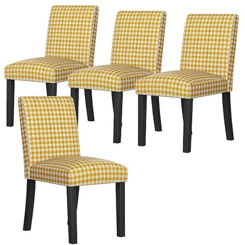 Copper Grove Brisbane Upholstered Dining Chairs (Set of 4)