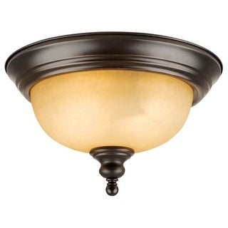 Design House 504399 2 Light Flushmount Ceiling Fixture from the Bristol Collection
