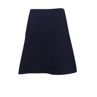 Vince Camuto Women's Crepe Flare Skirt - navy stone - 8