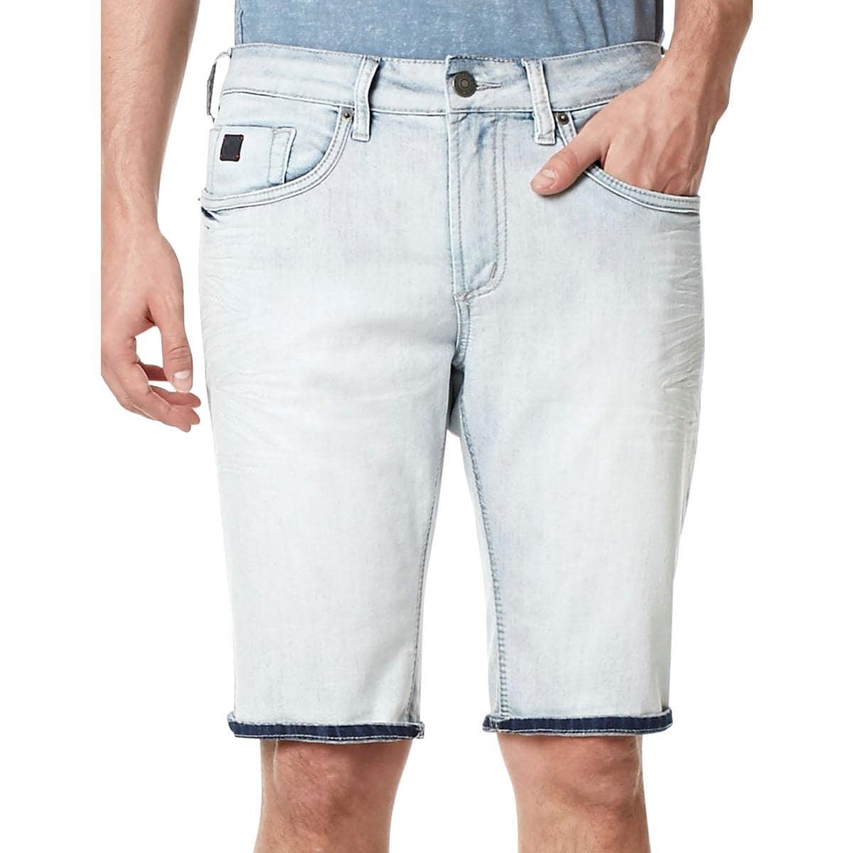 Buffalo David Bitton Mens Parker-x Casual Denim Shorts