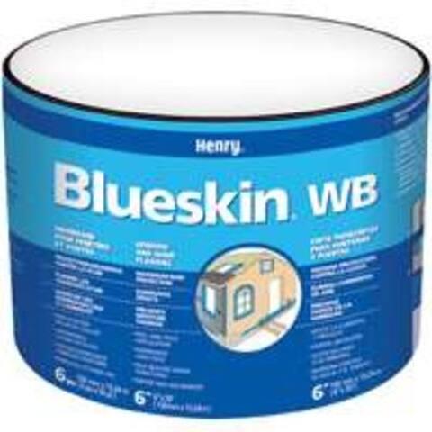"Henry BH200WB4590 Blueskin Weather Barrier, 9"" x 50'"