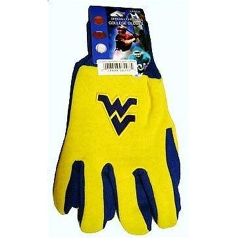 McArthur 9960603822 West Virginia Mountaineers Two Tone Glove Adult