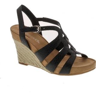 Aerosoles Women's Plush Plenty Wedge Sandal
