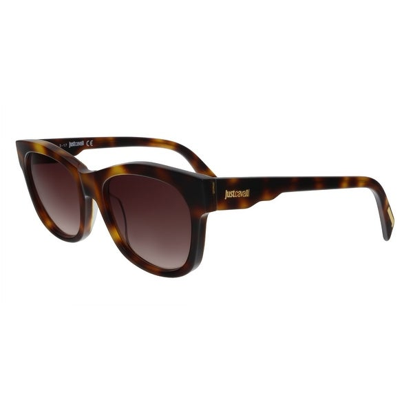 Just Cavalli JC783S 52F Brown Tortoise Rectangular Sunglasses - No Size. Opens flyout.