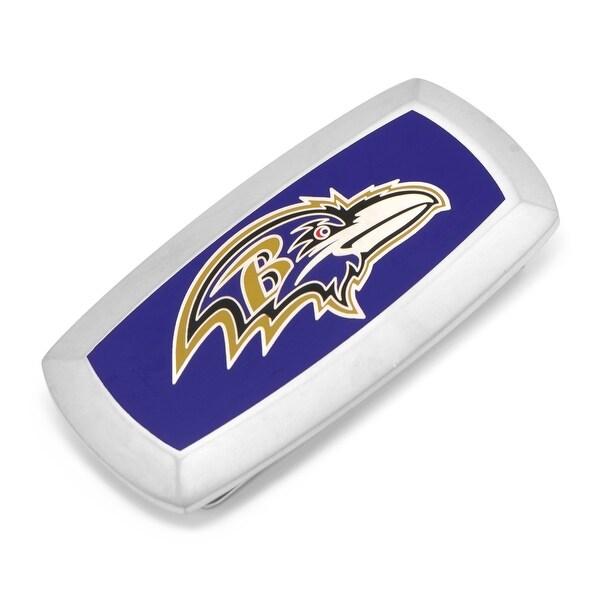 Baltimore Ravens Cushion Money Clip